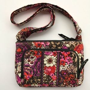 Vera Bradley Floral Shoulder Bag / Crossbody
